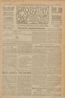 Robotnik : organ Polskiej Partyi Socyalistycznej. R.25, nr 76 (17 lutego 1919) = nr 453 - wyd. popołudniowe