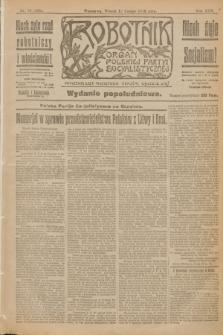 Robotnik : organ Polskiej Partyi Socyalistycznej. R.25, nr 78 (18 lutego 1919) = nr 455 - wyd. popołudniowe
