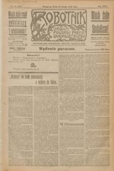 Robotnik : organ Polskiej Partyi Socyalistycznej. R.25, nr 79 (19 lutego 1919) = nr 456 - wyd. poranne
