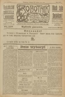 Robotnik : organ Polskiej Partyi Socyalistycznej. R.25, nr 87 (23 lutego 1919) = nr 464 - wyd. poranne
