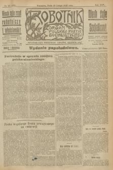 Robotnik : organ Polskiej Partyi Socyalistycznej. R.25, nr 92 (26 lutego 1919) = nr 469 - wyd. popołudniowe