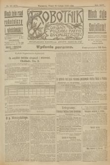 Robotnik : organ Polskiej Partyi Socyalistycznej. R.25, nr 95 (28 lutego 1919) = nr 472 - wyd. poranne