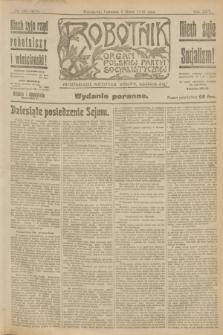 Robotnik : organ Polskiej Partyi Socyalistycznej. R.25, nr 103 (6 marca 1919) = nr 480 - wyd. poranne