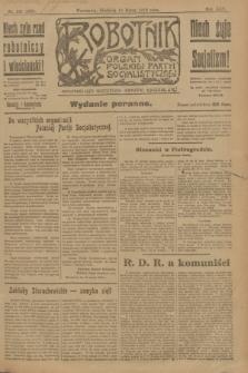 Robotnik : organ Polskiej Partyi Socyalistycznej. R.25, nr 121 (16 marca 1919) = nr 498 - wyd. poranne
