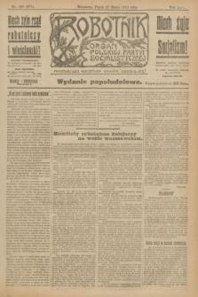 Robotnik : organ Polskiej Partyi Socyalistycznej. R.25, nr 130 (21 marca 1919) = nr 507 - wyd. popołudniowe