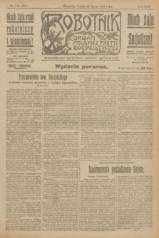 Robotnik : organ Polskiej Partyi Socyalistycznej. R.25, nr 131 (22 marca 1919) = nr 508 - wyd. poranne