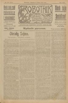Robotnik : organ Polskiej Partyi Socyalistycznej. R.25, nr 137 (27 marca 1919) = nr 514 - wyd. poranne