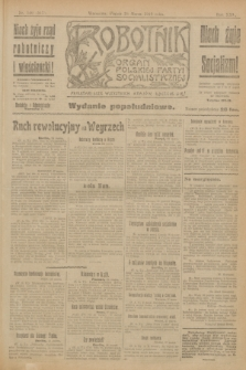 Robotnik : organ Polskiej Partyi Socyalistycznej. R.25, nr 140 (28 marca 1919) = nr 517 - wyd. popołudniowe
