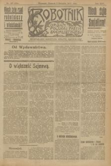 Robotnik : organ Polskiej Partyi Socyalistycznej. R.25, nr 147 (3 kwietnia 1919) = nr 524