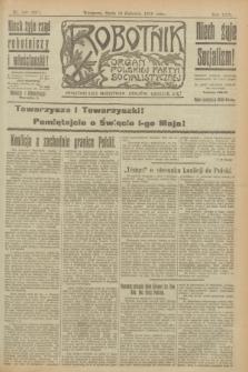 Robotnik : organ Polskiej Partyi Socyalistycznej. R.25, nr 160 (16 kwietnia 1919) = nr 537