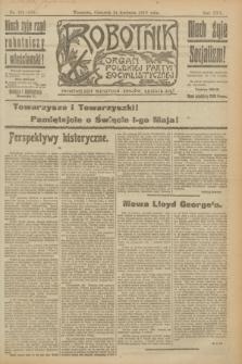 Robotnik : organ Polskiej Partyi Socyalistycznej. R.25, nr 166 (24 kwietnia 1919) = nr 543