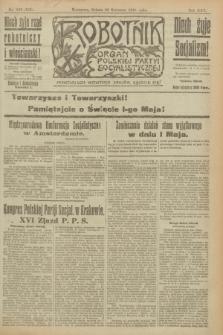 Robotnik : organ Polskiej Partyi Socyalistycznej. R.25, nr 168 (26 kwietnia 1919) = nr 545