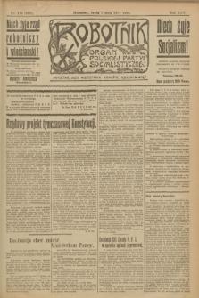 Robotnik : organ Polskiej Partyi Socyalistycznej. R.25, nr 179 (7 maja 1919) = nr 556