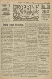 Robotnik : organ Polskiej Partyi Socyalistycznej. R.25, nr 182 (10 maja 1919) = nr 559