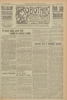 Robotnik : organ Polskiej Partyi Socyalistycznej. R.25, nr 189 (17 maja 1919) = nr 566
