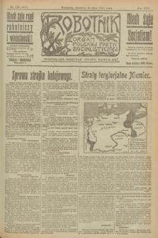 Robotnik : organ Polskiej Partyi Socyalistycznej. R.25, nr 190 (18 maja 1919) = nr 567