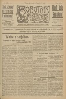 Robotnik : organ Polskiej Partyi Socyalistycznej. R.25, nr 192 (20 maja 1919) = nr 569