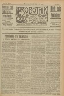 Robotnik : organ Polskiej Partyi Socyalistycznej. R.25, nr 195 (23 maja 1919) = nr 572