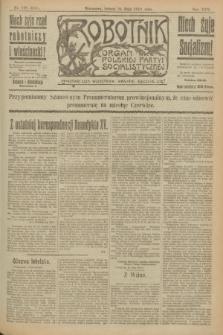 Robotnik : organ Polskiej Partyi Socyalistycznej. R.25, nr 196 (24 maja 1919) = nr 573