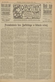Robotnik : organ Polskiej Partyi Socyalistycznej. R.25, nr 208 (5 czerwca 1919) = nr 585