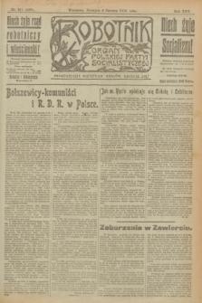 Robotnik : organ Polskiej Partyi Socyalistycznej. R.25, nr 211 (8 czerwca 1919) = nr 588