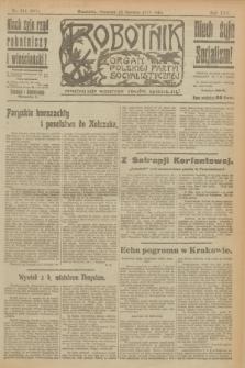 Robotnik : organ Polskiej Partyi Socyalistycznej. R.25, nr 214 (12 czerwca 1919) = nr 591