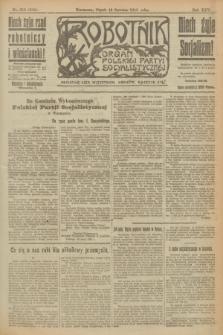 Robotnik : organ Polskiej Partyi Socyalistycznej. R.25, nr 215 (13 czerwca 1919) = nr 592