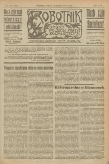 Robotnik : organ Polskiej Partyi Socyalistycznej. R.25, nr 216 (14 czerwca 1919) = nr 593