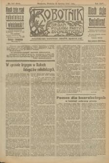 Robotnik : organ Polskiej Partyi Socyalistycznej. R.25, nr 217 (15 czerwca 1919) = nr 594