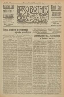 Robotnik : organ Polskiej Partyi Socyalistycznej. R.25, nr 219 (17 czerwca 1919) = nr 596