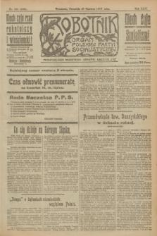 Robotnik : organ Polskiej Partyi Socyalistycznej. R.25, nr 221 (19 czerwca 1919) = nr 598
