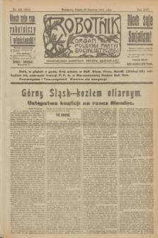 Robotnik : organ Polskiej Partyi Socyalistycznej. R.25, nr 222 (20 czerwca 1919) = nr 599