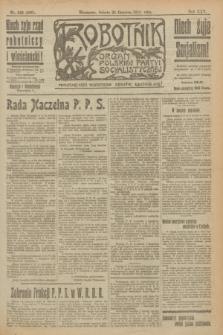 Robotnik : organ Polskiej Partyi Socyalistycznej. R.25, nr 223 (21 czerwca 1919) = nr 600