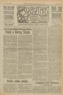 Robotnik : organ Polskiej Partyi Socyalistycznej. R.25, nr 227 (25 czerwca 1919) = nr 604