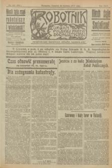 Robotnik : organ Polskiej Partyi Socyalistycznej. R.25, nr 228 (26 czerwca 1919) = nr 605