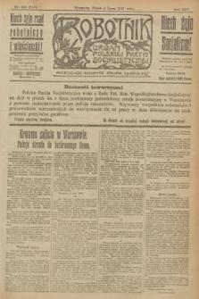 Robotnik : organ Polskiej Partyi Socyalistycznej. R.25, nr 236 (4 lipca 1919) = nr 613