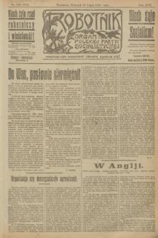 Robotnik : organ Polskiej Partyi Socyalistycznej. R.25, nr 242 (10 lipca 1919) = nr 619