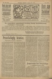 Robotnik : organ Polskiej Partyi Socyalistycznej. R.25, nr 249 (17 lipca 1919) = nr 626