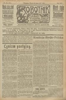 Robotnik : organ Polskiej Partyi Socyalistycznej. R.25, nr 254 (22 lipca 1919) = nr 631