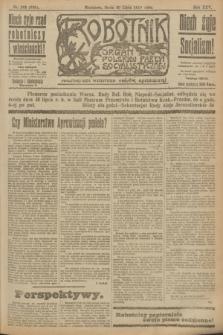 Robotnik : organ Polskiej Partyi Socyalistycznej. R.25, nr 262 (30 lipca 1919) = nr 639