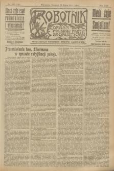 Robotnik : organ Polskiej Partyi Socyalistycznej. R.25, nr 263 (31 lipca 1919) = nr 640