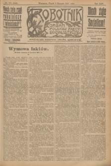 Robotnik : organ Polskiej Partyi Socyalistycznej. R.25, nr 271 (8 sierpnia 1919) = nr 648