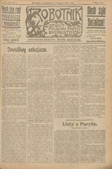 Robotnik : organ Polskiej Partyi Socyalistycznej. R.25, nr 274 (11 sierpnia 1919) = nr 651