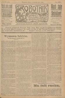 Robotnik : organ Polskiej Partyi Socyalistycznej. R.25, nr 276 (13 sierpnia 1919) = nr 653