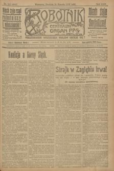 Robotnik : centralny organ P.P.S. R.25, nr 287 (24 sierpnia 1919) = nr 664