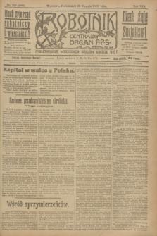 Robotnik : centralny organ P.P.S. R.25, nr 288 (25 sierpnia 1919) = nr 665