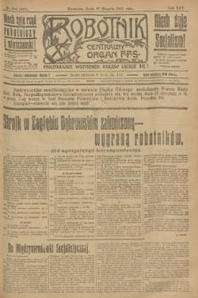 Robotnik : centralny organ P.P.S. R.25, nr 290 (27 sierpnia 1919) = nr 667