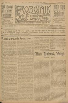 Robotnik : centralny organ P.P.S. R.25, nr 292 (29 sierpnia 1919) = nr 669