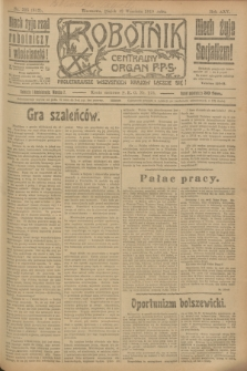 Robotnik : centralny organ P.P.S. R.25, nr 305 (12 września 1919) = nr 682