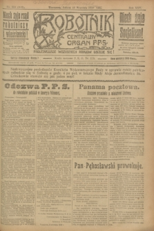 Robotnik : centralny organ P.P.S. R.25, nr 306 (13 września 1919) = nr 683